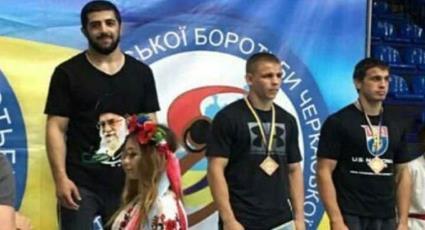 Ukrainski hrvač Elmar Nur Alijev