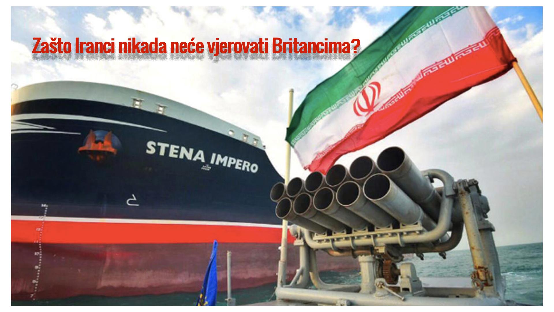 Daily mail – Zašto Iranci nikada neće vjerovati Britancima?
