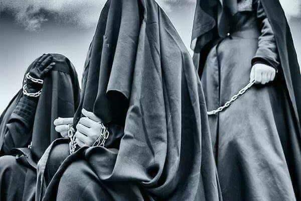Zarobljene žene i djeca kod Ibn Zijada