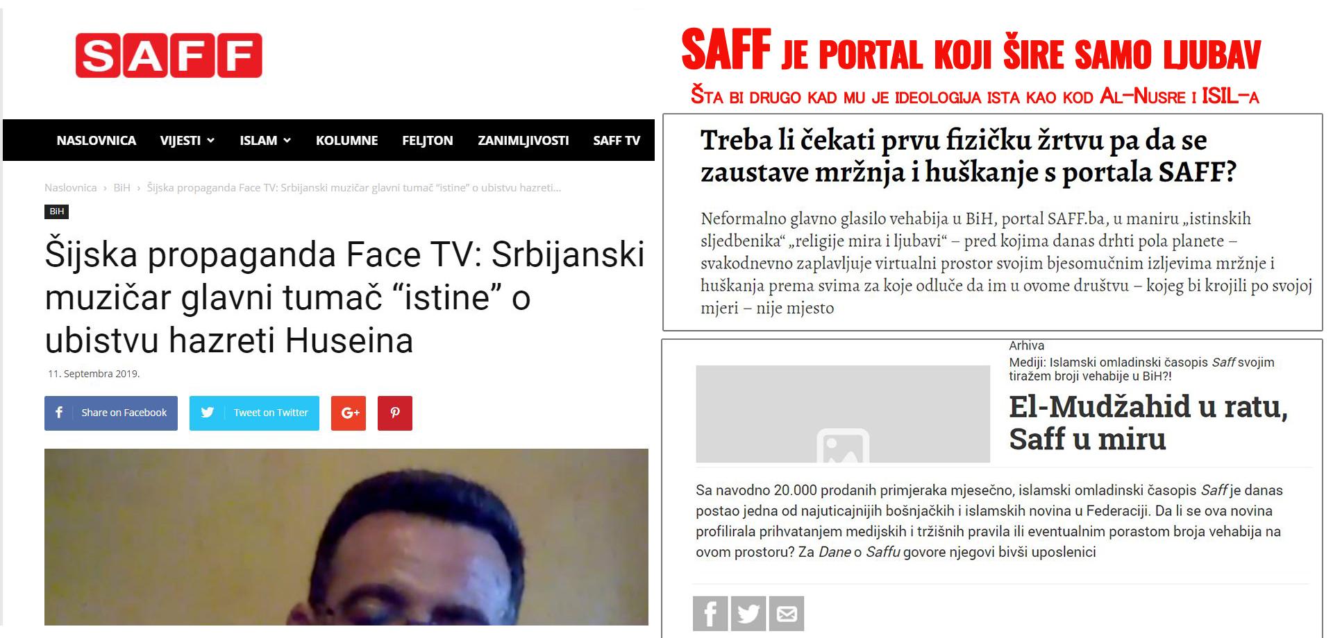 Fašizam očajnika iz Saff.ba