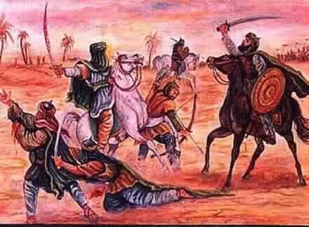 Obraćanje Ebu Talibovom potomstvu