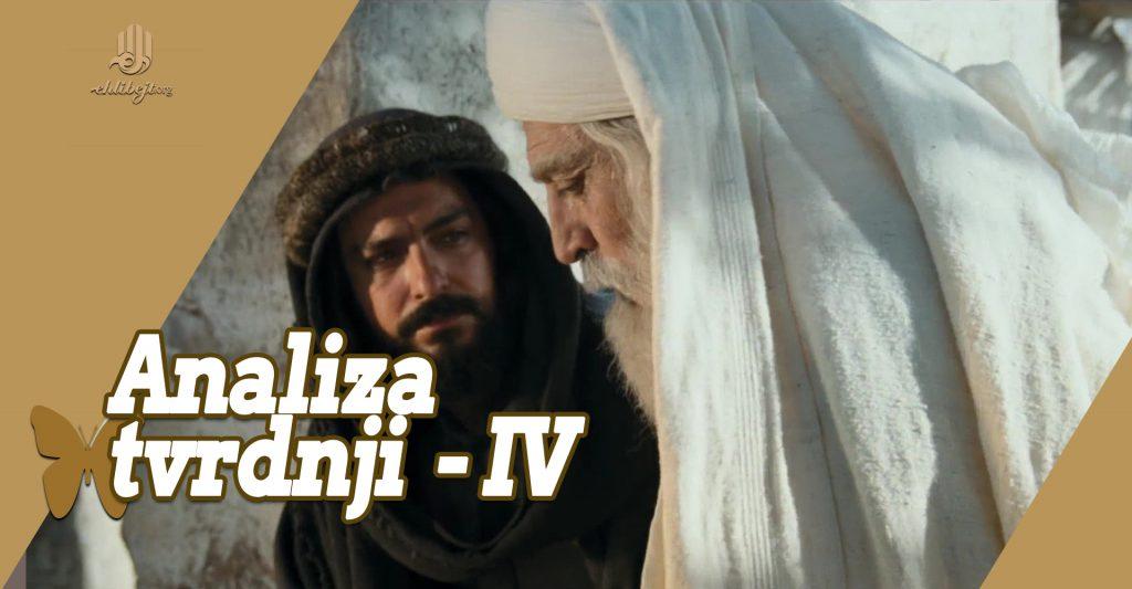 Analiza tvrdnji onih koji vjeruju u nevjerstvo Ebu Taliba (IV)