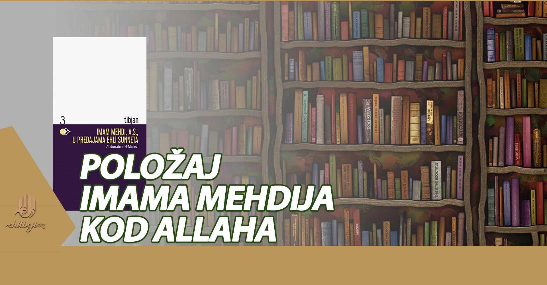 Imam Mehdi, a.s., u predajama ehli sunneta (VI)