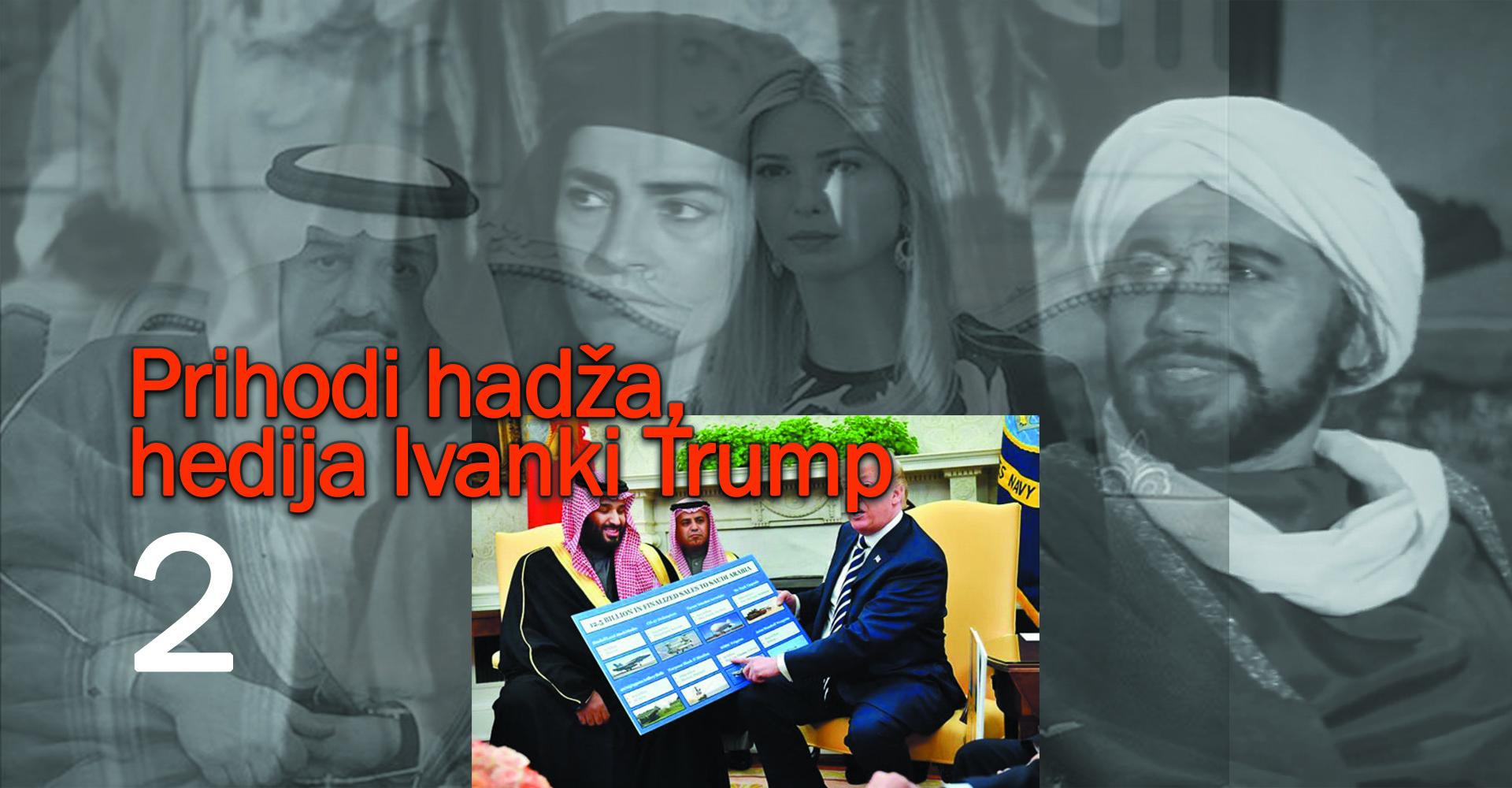 Prihodi hadža, hedija Ivanki Trump