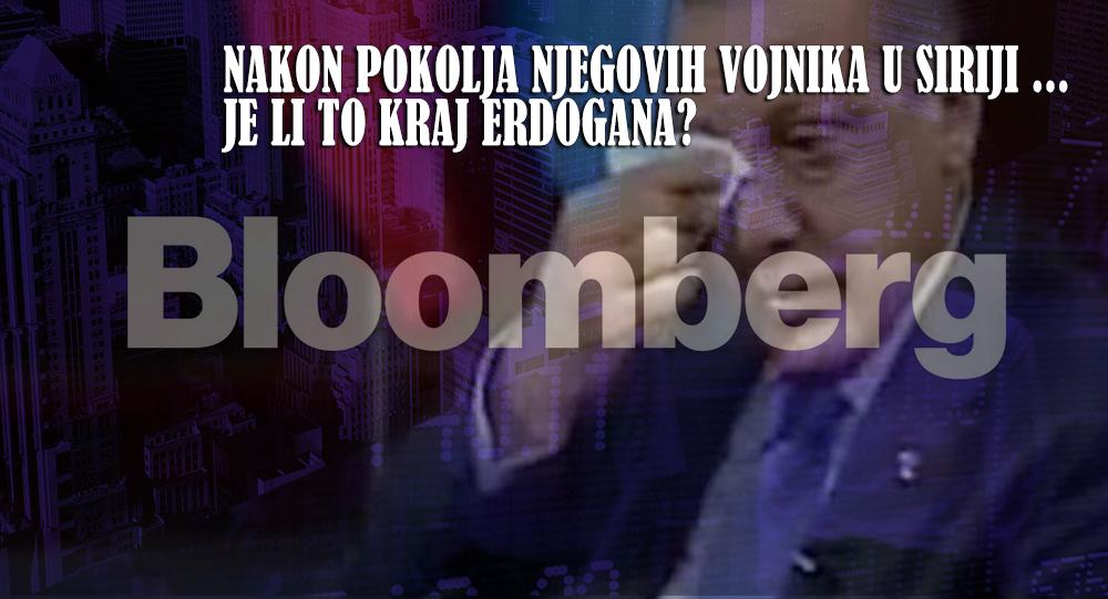 'Bloomberg': Nakon pokolja njegovih vojnika u Siriji ..., je li to kraj Erdogana?