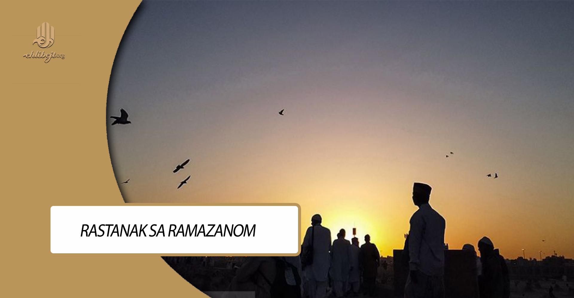Rastanak sa ramazanom