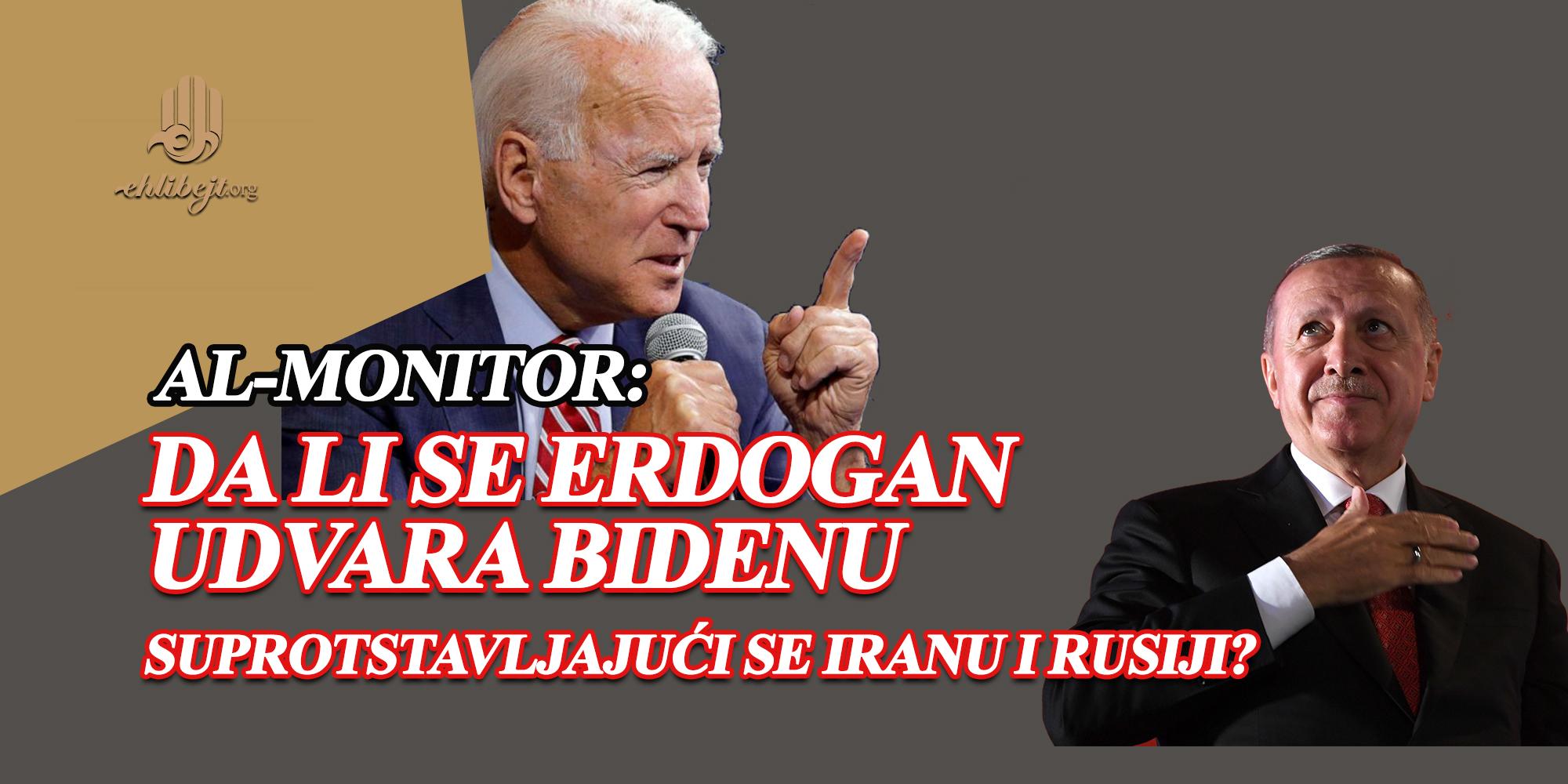 Da li se Erdogan udvara Bidenu suprotstavljajući se Iranu i Rusiji?