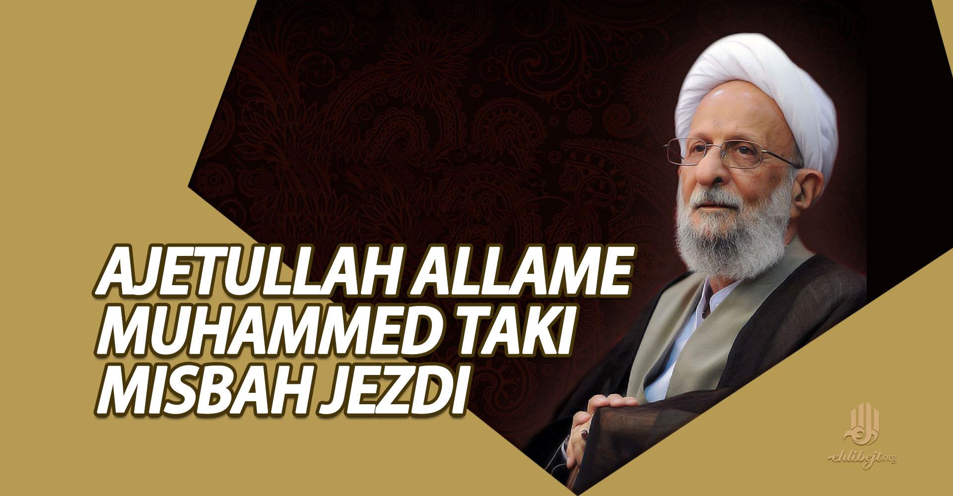 Ajetullah allame Muhammed Taki Misbah Jezdi