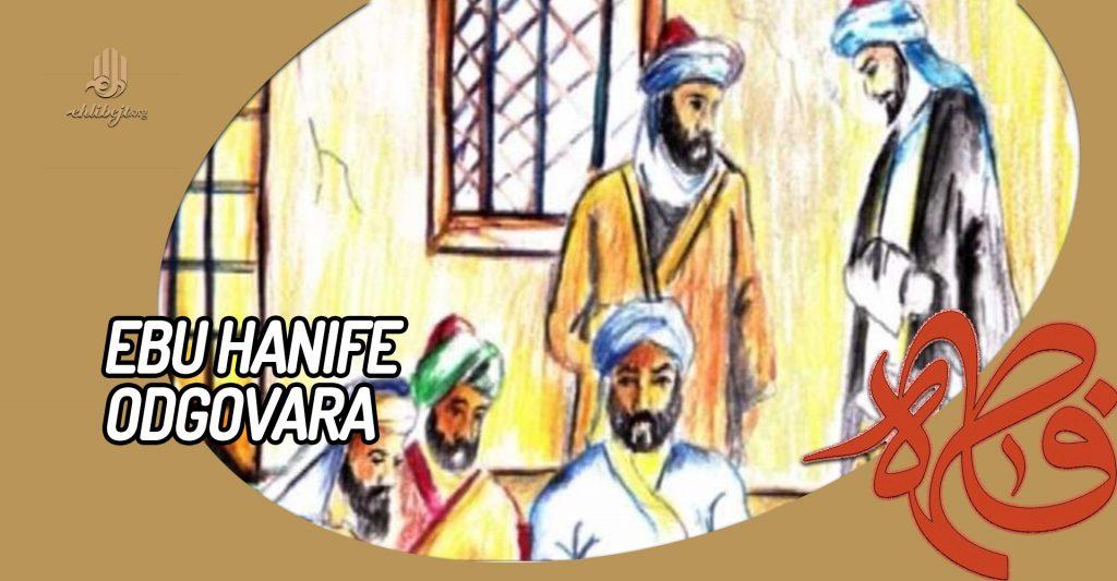 Ebu Hanife odgovara
