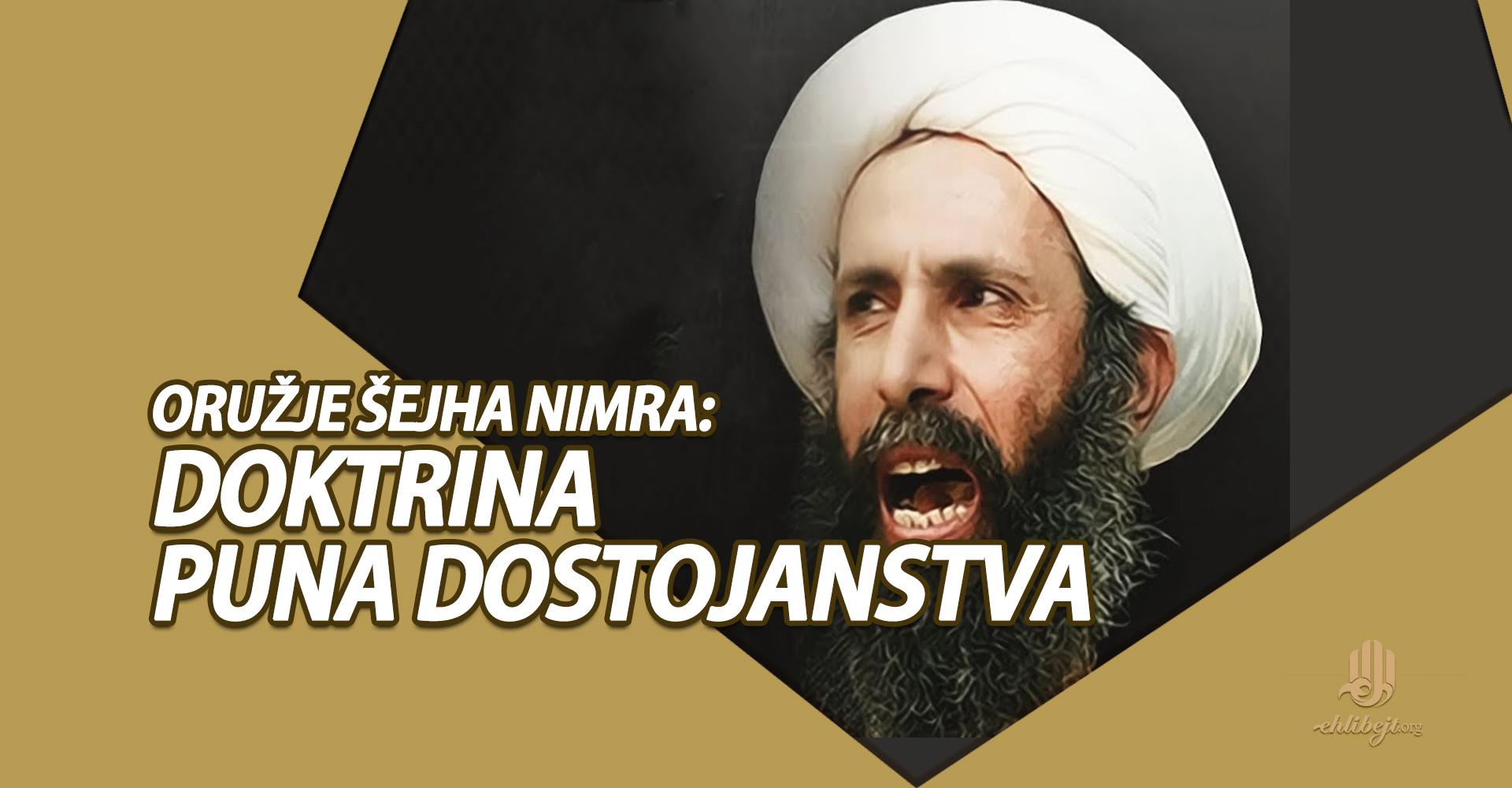Oružje šejha Nimra: doktrina puna dostojanstva